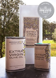 Werona Grove Extra Virgin Olive Oil tins